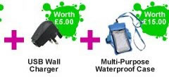 waterproof mp3  player splash package